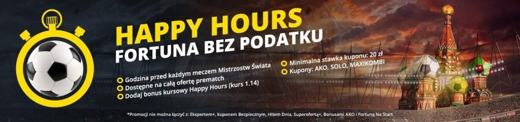 Happy Hours - eFortuna bez podatku